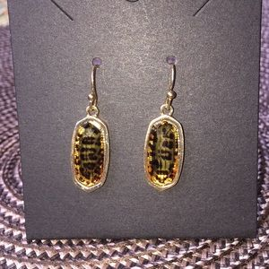 3/$12  Animal Print Drop earrings